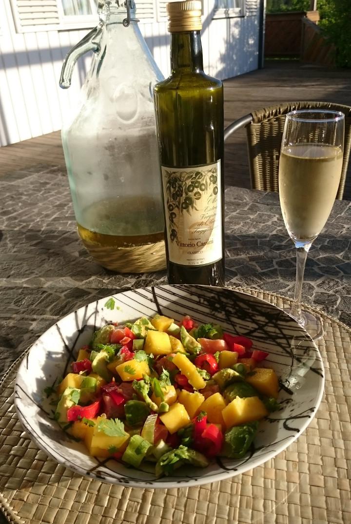 Laks og olivenolje