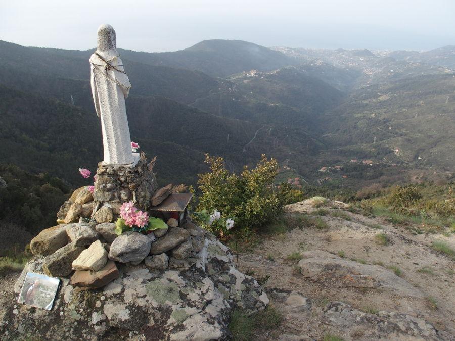 Madonna på Mt Caggio.